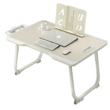 Multi-Purpose, Foldable Laptop Table with Storage Drawer