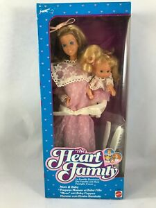 mom & baby MAMMA Famiglia Cuore Heart Family Famille Doucoeur MATTEL sealed MISB
