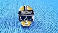 A new enamel  barbour international  pin badge