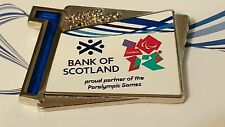 2012 London Olympic BANK OF SCOTLAND SPONSOR 1 YEAR TO.GO PIN