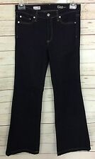 "Gap 1969 Dark Wash Authentic Flare Jeans Size 28R 32"" Inseam"