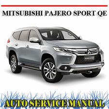 MITSUBISHI PAJERO SPORT QE 2015-2018 WORKSHOP SERVICE REPAIR MANUAL ~ DVD