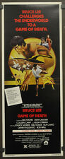 GAME OF DEATH 1979 ORIGINAL 14X36 MOVIE POSTER BRUCE LEE GIG  YOUNG COLLEEN CAMP