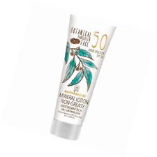 Australian Gold Botanical Sunscreen Tinted Face Mineral Lotion, Non-Greasy, Spf