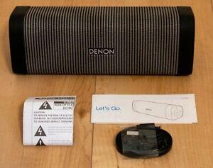 DENON Portable Bluetooth Speaker Envaya DSB-250BT-Gray & Black