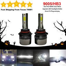 9005 HB3 LED Headlight Bulb Kit High Beam Upgrade Canbus Lamp 75W 6000K White