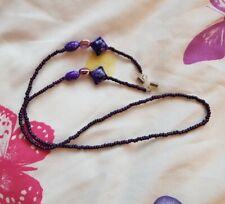 Purple Glasses Chain Cord