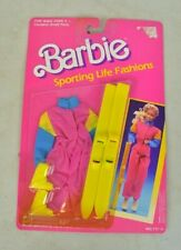 1998 Mattel Sporting Life Fashions Barbie Skiing Clothes and Skis Sealed