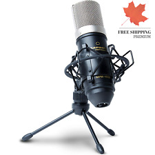 Professional MPM1000 Large Diaphragm Condenser Microphone with Windscreen Sho...