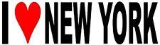 Amo a Nueva York Vinilo Calcomanía Adhesivo para Coche/Ventana/Pared