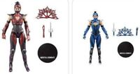 "McFarlane Mortal Kombat KITANA 7"" Battle Limited Edition Figure Combo pack sale"