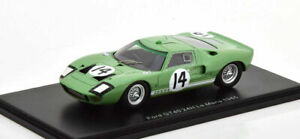 S4534 Spark: 1/43 Ford GT40 #14 24 Hours Le Mans 1965 J. Whitmore - I. Ireland