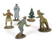 WBritain Look At Him Go A Friendly Game 23086 23088 Christmas 1914 World War II