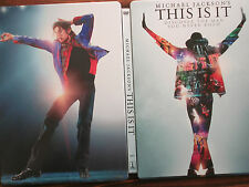 Michael Jackson's THIS IS IT   G1 Steelbook Case ( empty steelbook case only!! )