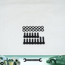 Schrauben Ölwanne Edelstahl schwarz Opel OHC C20NE 18E C20SEH C16NZ C18NZ 8V