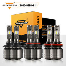 AUXBEAM LED Headlight HiLo+Fog Lights for Honda Accord 2008-2012 Civic 2006-2015