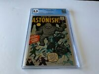 TALES TO ASTONISH 6 CGC 3.5 INVASION OF THE STONE MEN ATLAS COMICS 1959