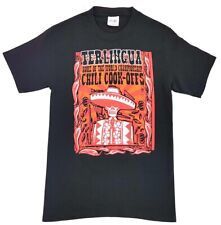 Terlingua Chili Cook Off Tee Black Size Small Adult T Shirt