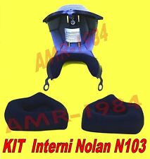 KIT INTERNO CLIMA COMFORT + GUANCIALI  NOLAN N103  specificare Taglia