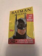 "Batman bubble gum cards Topps 2x3/"" fridge//locker magnet pack art"