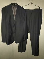 ANGELO ROSSI GRAY PANT SUIT DESIGNED IN ITALY SIZE 46R JACKET AND  36 PANTS