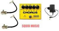 MXR M-134 Stereo Chorus Guitar Effects Pedal M134 ( 2 MXR PATCH CABLES )
