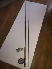 Fly Rod 9 Ft 5/6 Wt Two Piece Caddis Creek Fish Combo Rim Control Single Action