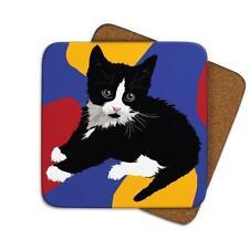 Leslie Gerry LGCOA013 Single Coaster Kitten