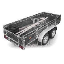 Anhängernetz Gepäcknetz auf 3x2 Meter dehnbar Anhänger Netz Ladungssicherung
