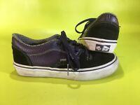 Vans Style 99's Men's Boys Rowley Purple Suede Sneaker Shoes Size 2 EUR 32.5