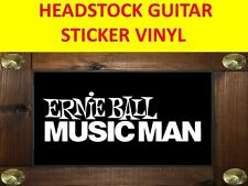 ERNIE BALL MUSIC MAN WHITE AUFKLEBER STICKER PRODUCT ON SALE UNTIL END OF STOCK