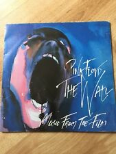 "Pink Floyd - When The Tigers Broke Free UK 1982 Harvest 7"" Fold Out Gatefold"
