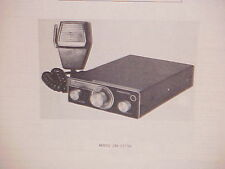1977 HITACHI CB RADIO SERVICE SHOP MANUAL MODEL CM-2375H