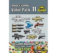 BrickArms Value Pack #11 Weapon Pack Army Military designed for LEGO Minifigure