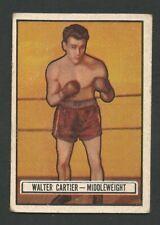 1951 Topps Ringside #33 Walter Cartier EX / EX+
