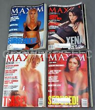 Maxim Issues '99  #17 #18 #19 #20 Xena Caprice Doherty Williams Sex Sports Beer