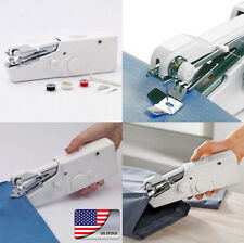 Portable Mini Handy Fabric Clothes Quick Stitch Battery Handheld Sewing Machine