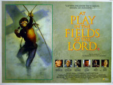 AT PLAY IN THE FIELDS OF THE LORD 1991 Tom Berenger HECTOR BABENCO QUAD POSTER