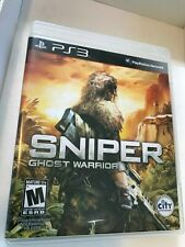 Sniper Ghost Warrior -  SONY PS3 Tactical Shooter Stealth Game
