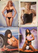 Daniella Alonso Cicarelli Urzi ISRAEL 4xMINI POSTER Lingerie Bikini SEXY LATINA
