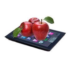Báscula digital de cocina Bravissima Kitchen iPad 5 kg negro novedad