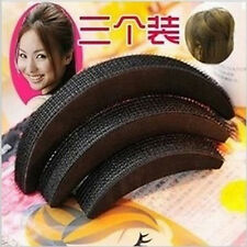 3Sizes Hair Styling Clip Stick Bun Maker Volume Base Bump Braid Insert Tool NICE