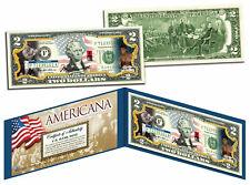 MUHAMMAD ALI - Americana - Genuine Legal Tender US $2 Bill Officially Licensed