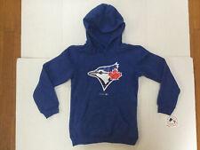 NWT MLB Baseball Toronto Blue Jays Majestic Hoodie Youth Sz  S , Woman's Size XS