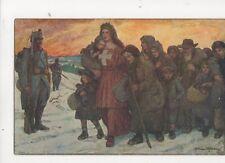 Switzerland 1915 Bundesfeier Postcard 258b