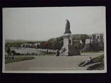 OLD POSTCARD FROM THE CASTLE SHOWING FLORA McDONALD'S STATUE, INVERNESS, UNUSED