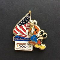 WDW - Patriots Day 2005 - Mickey Mouse & Goofy LE 2500 Disney Pin 41168