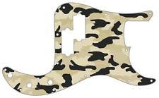 P Bass Precision Pickguard Custom Fender Guitar Pick Guard Camouflage Desert