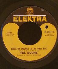"The Doors ""Break on Through"" & ""End of the Night"" 45 RPM Orange Label--Very Rare"