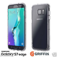 Griffin Survivor Clear Tough Back Case Cover for Samsung Galaxy S7 Edge Crystal